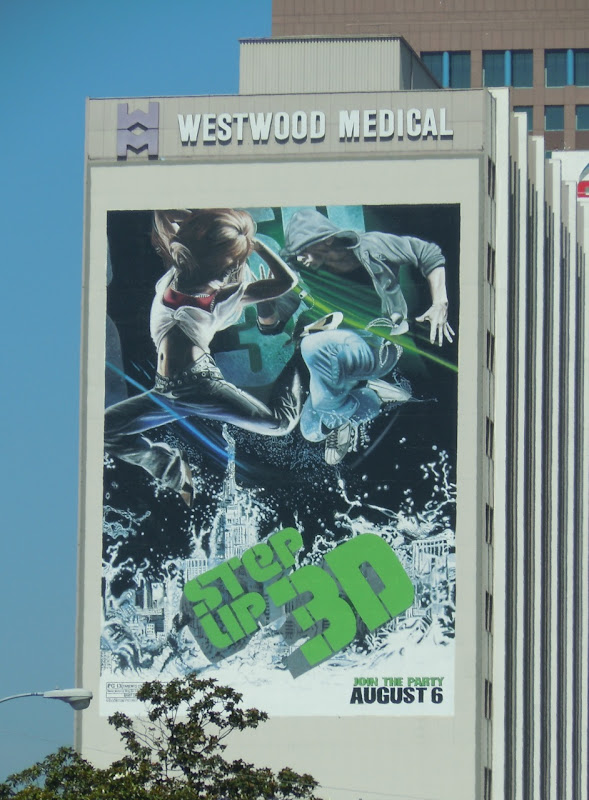 Step Up 3D movie billboard