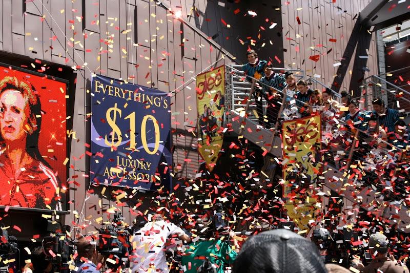 Sue Sylvester waxwork unveiled
