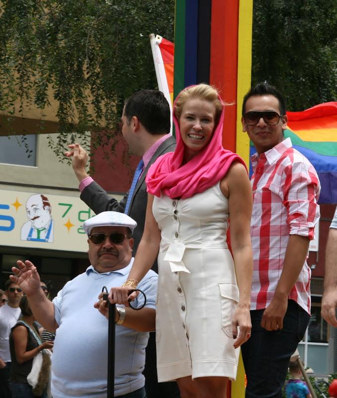 Chelsea Handler WEHO Pride Parade 09