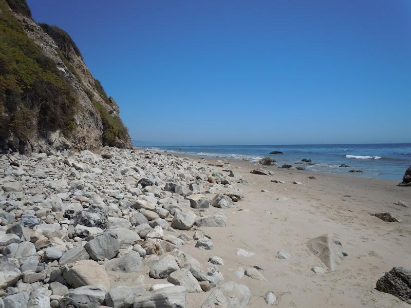 Hendry's Beach shore