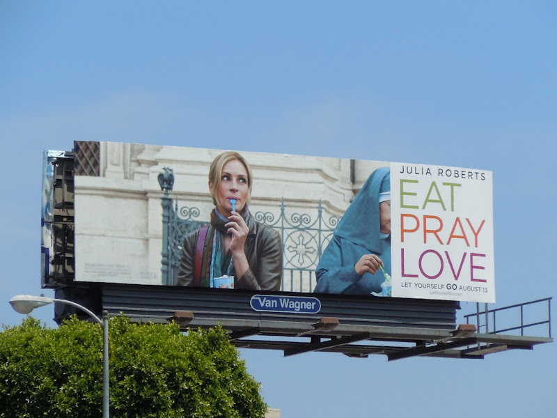 Eat Pray Love movie billboard
