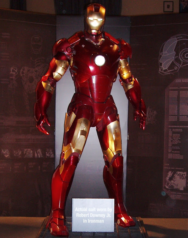 Iron man suit costume