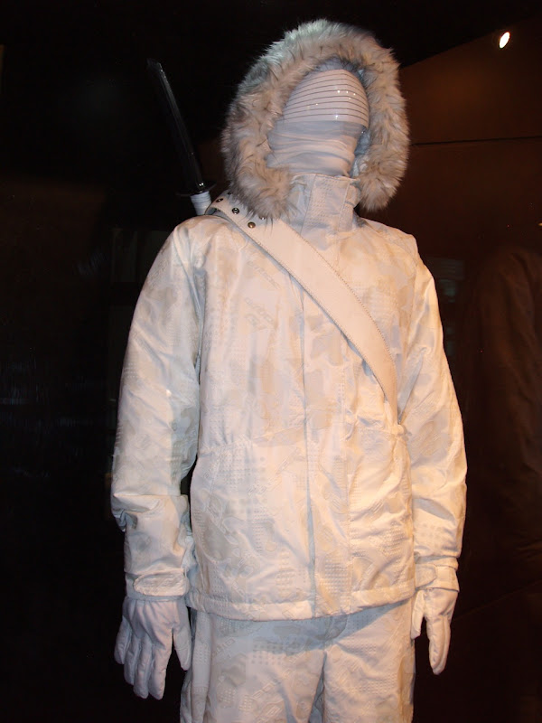 Arctic Snake Eyes GI Joe costume