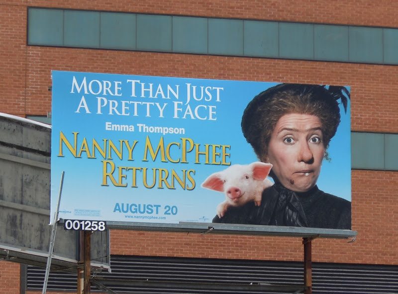 Nanny McPhee Returns film billboard