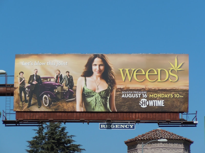 Weeds series 6 TV billboard