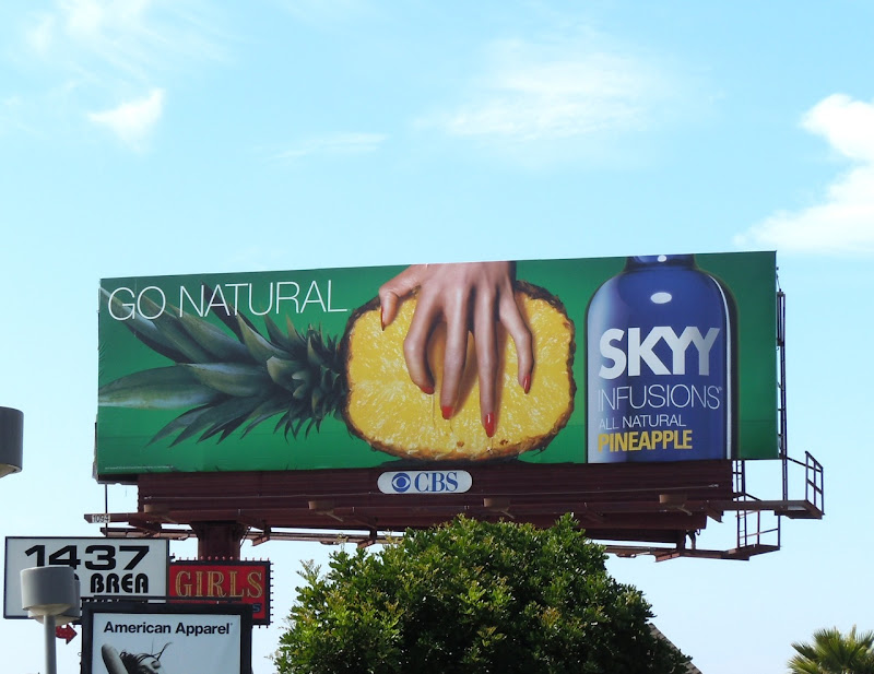 Skyy Pineapple Vodka billboard