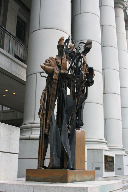 University of Wisdom Sculpture