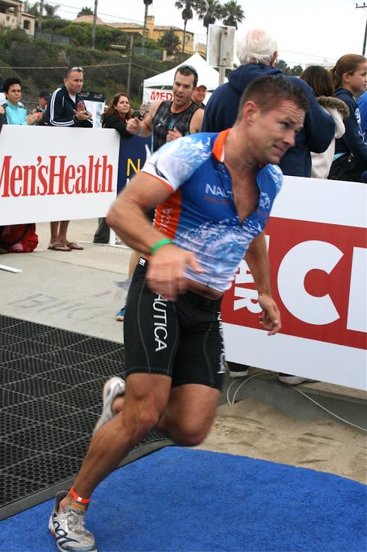 Andy Baldwin Malibu Triathlon finish 2010