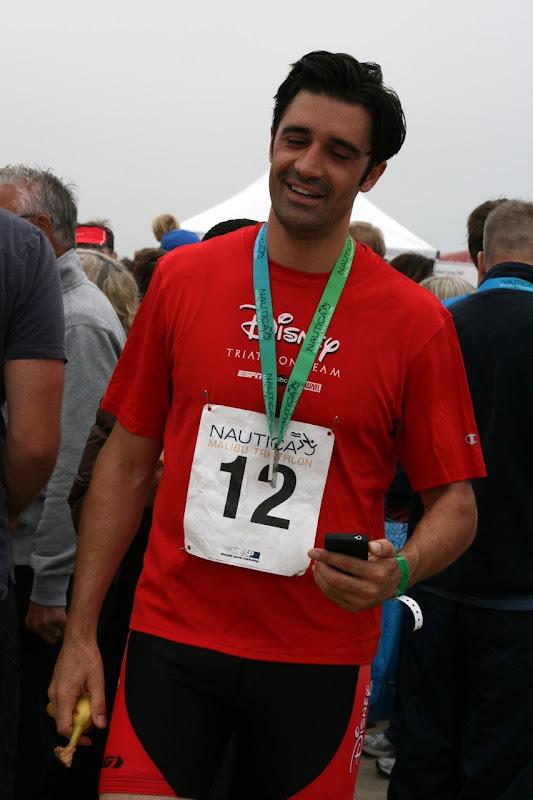 Gilles Marini Malibu Triathlon 2010