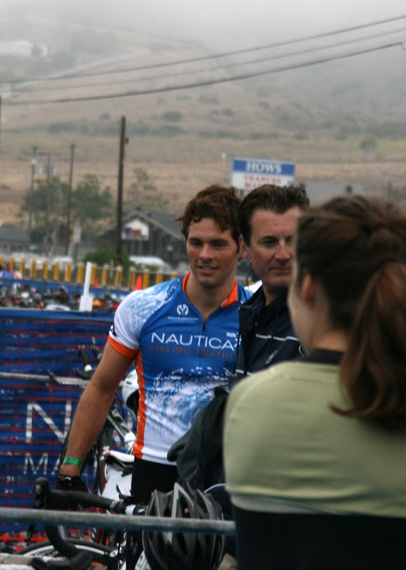 James Marsden Nautica Triathlon 2010