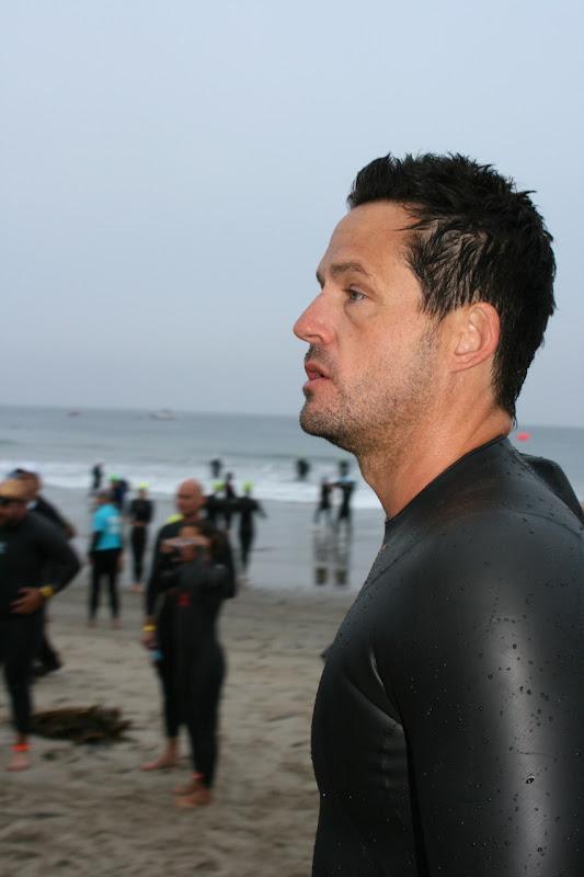 Josh Hopkins Malibu Tri swim 2010
