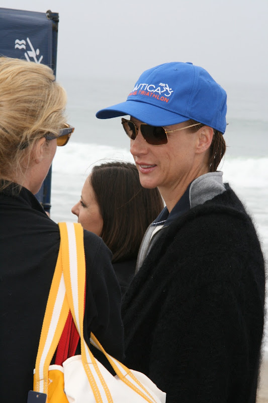 Rachel Griffiths Malibu Triathlon 2010