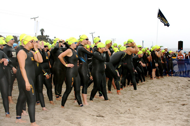 Rachel Griffiths swims Malibu Triathlon 2010