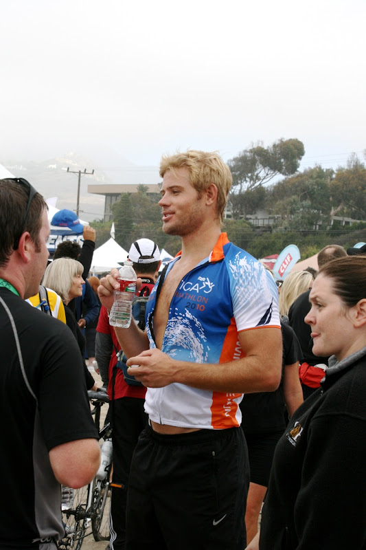Trevor Donovan after Malibu Triathlon