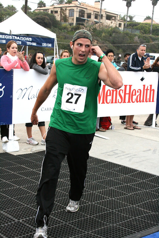 Sean Faris Malibu Triathlon Finish