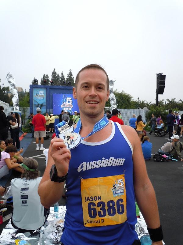 Disneyland Half Marathon 2010 runner Jason