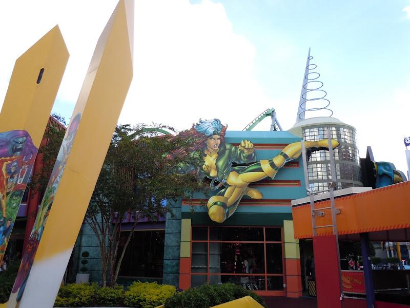 Rogue at Universal Studios