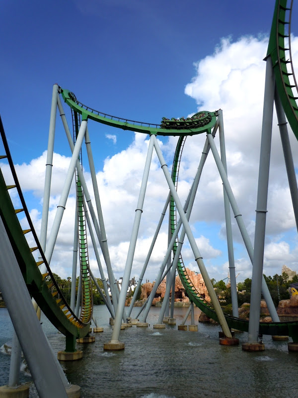 Hulk ride Universal Studios