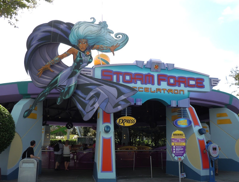Storm Force ride