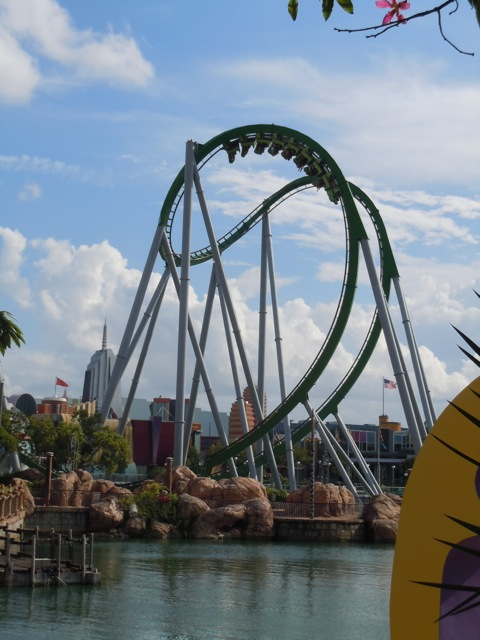 Hulk ride Universal Studios Orlando