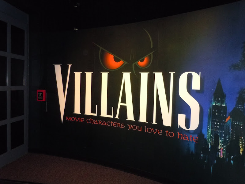 AFI movie Villains exhibit Disney