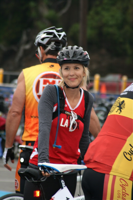 Female celebrity Malibu Triathlon 2010