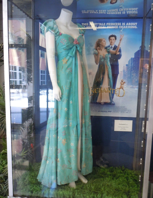 Amy Adams Enchanted curtain dress