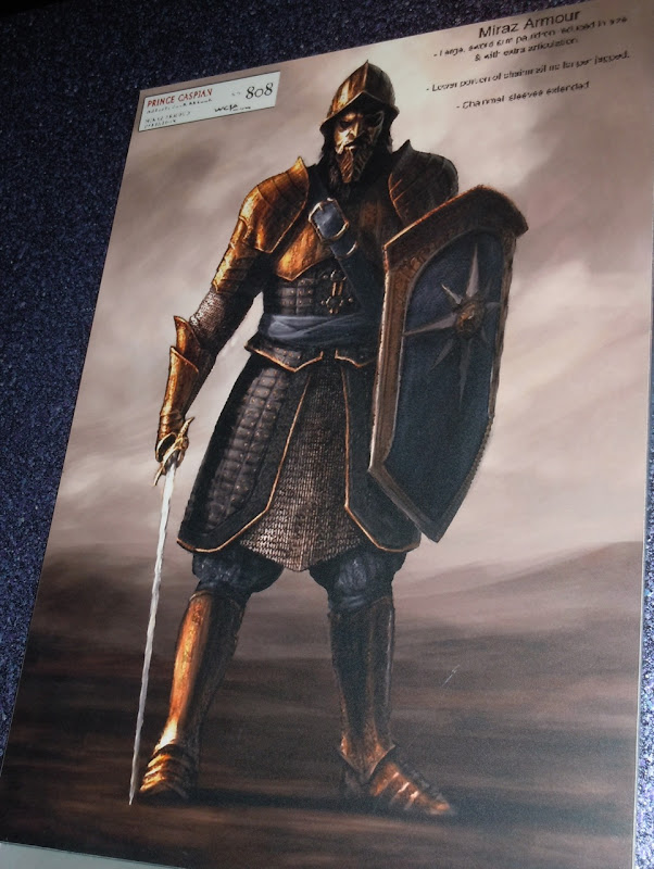 King Miraz Armour concept art