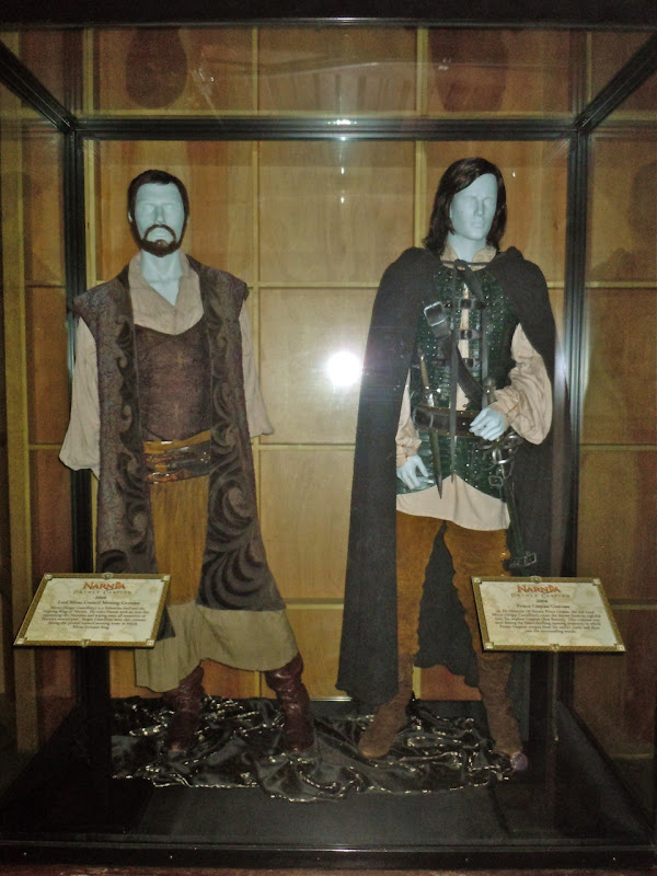 Miraz and Prince Caspian movie costumes