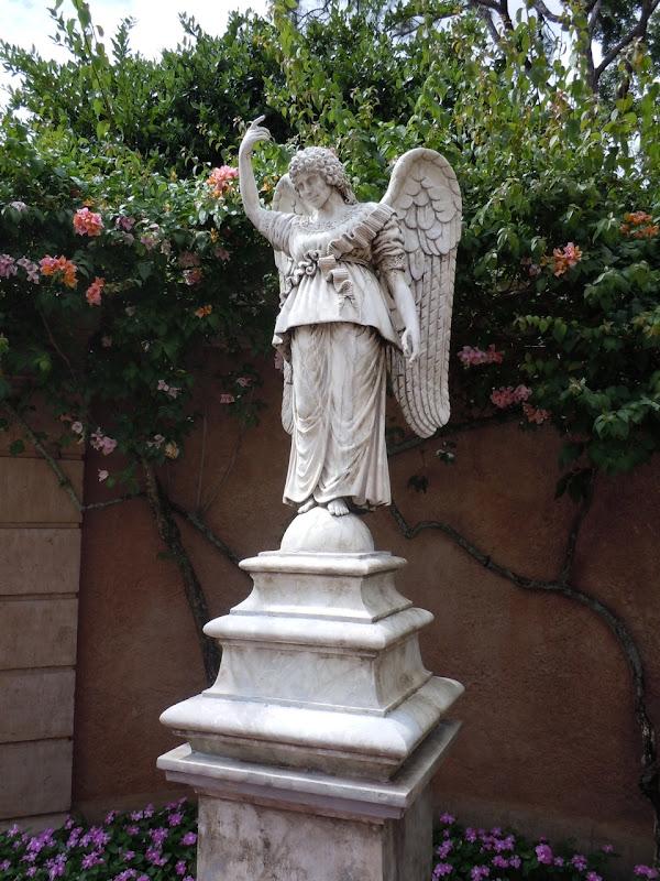 Italian angel statue Epcot