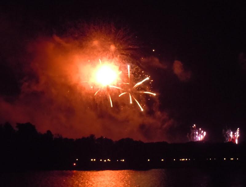 Disney Magic Kingdom firework display