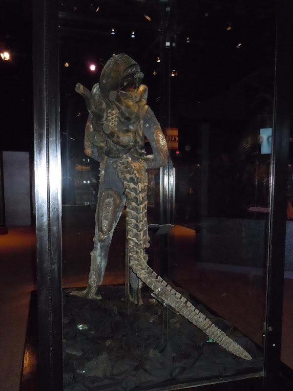 Alien creature costume reverse