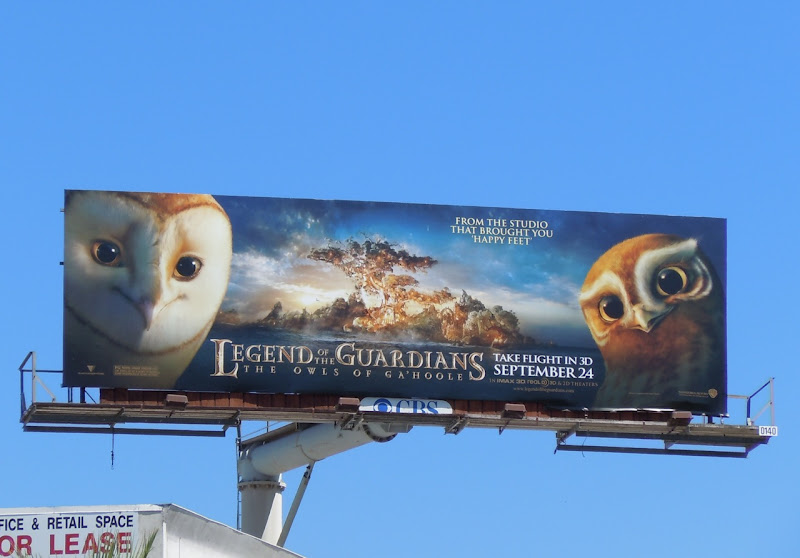 Owls of Ga'Hoole billboard