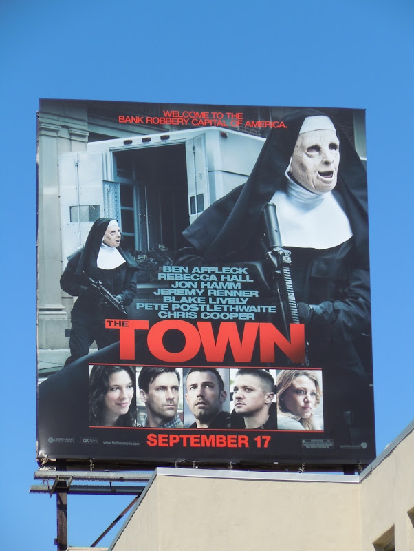 The Town film billboard