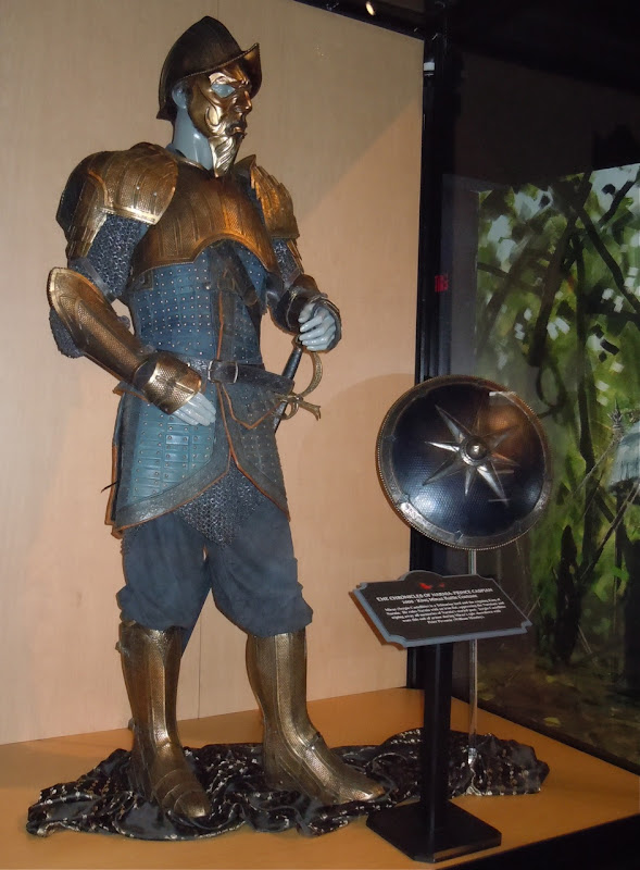 King Miraz battle armour Narnia costume