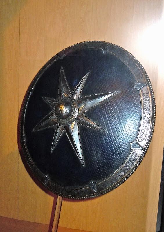 Narnia's King Miraz shield prop