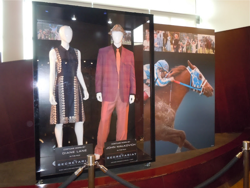 Secretariat movie costume display