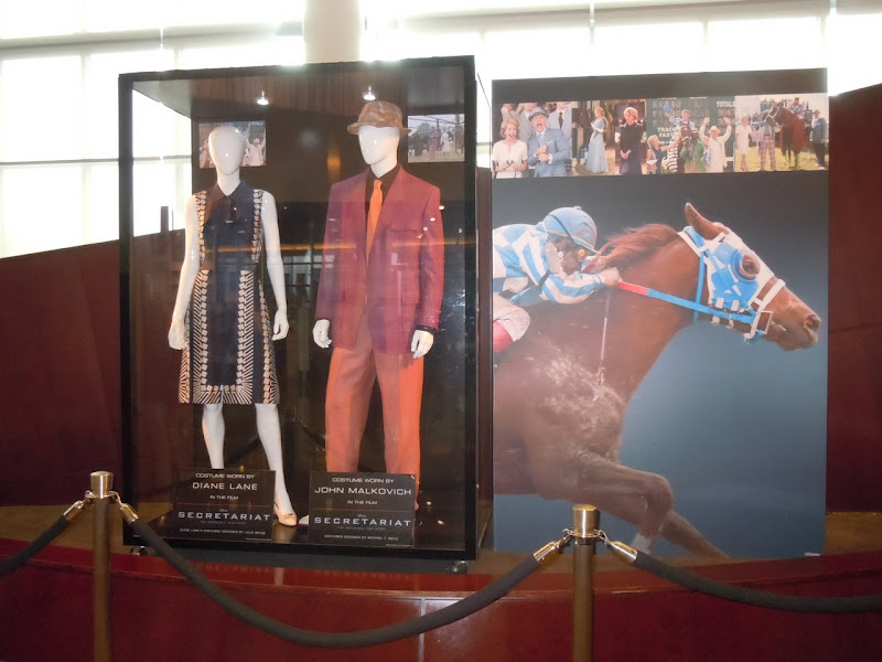 Secretariat movie costume exhibit