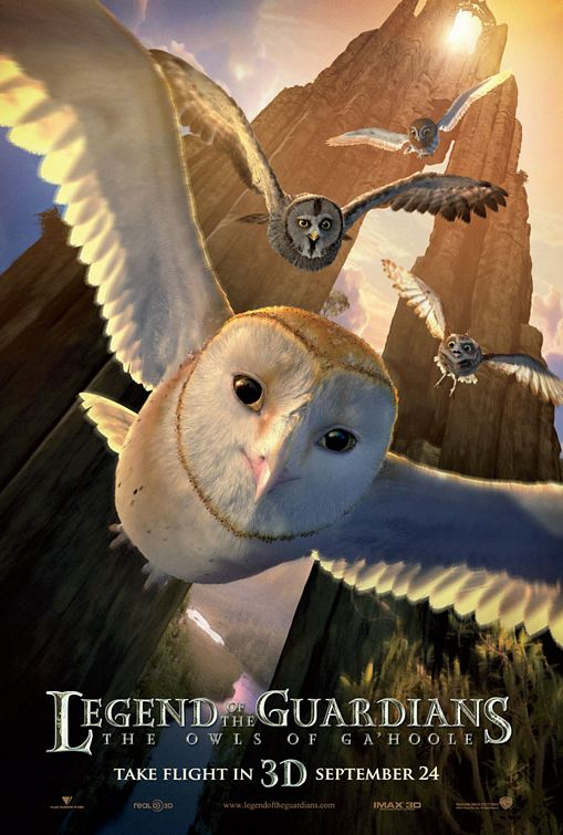 Legend of the Guardians Owls poster