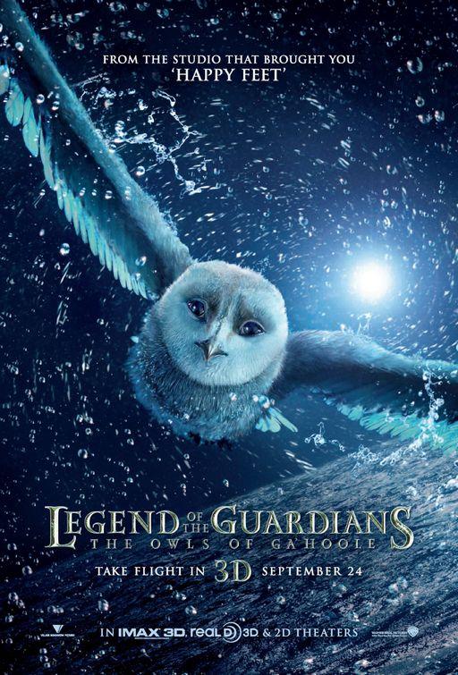 Legend of the Guardians teaser poster