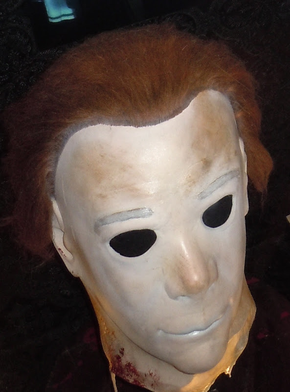 Halloween Michael Myers mask. This movie mask was photographed on display at ...