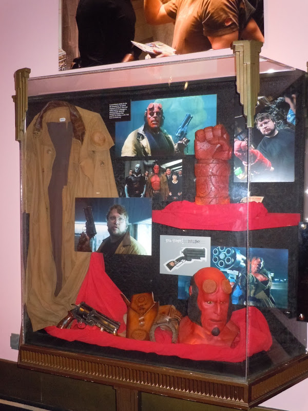 Hellboy II costume and prop exhibit