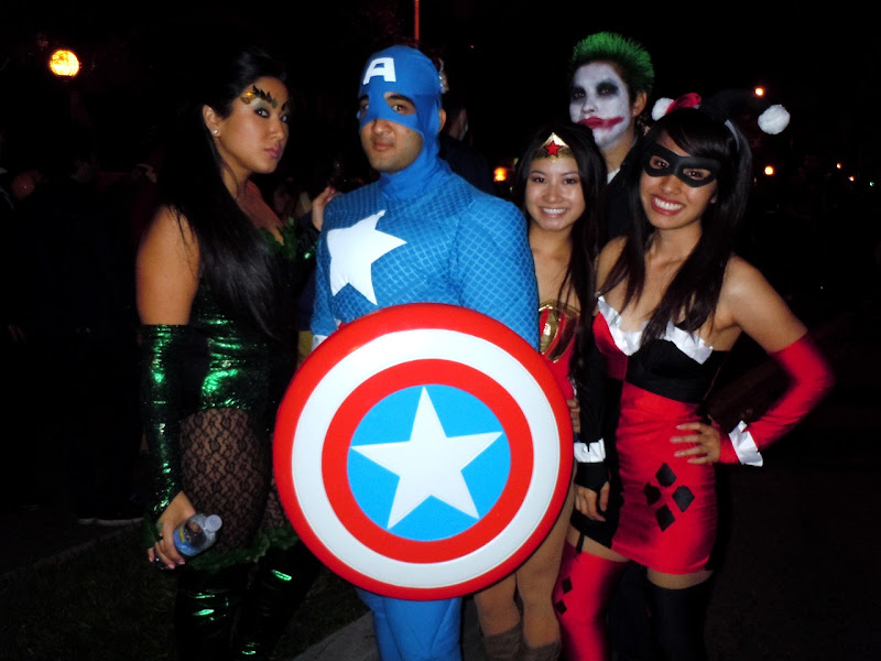 West Hollywood Halloween Captain America
