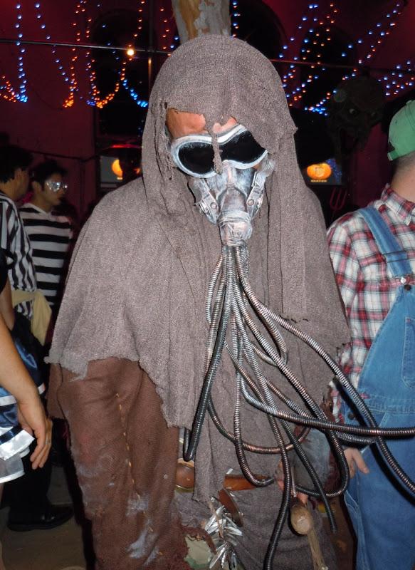 West Hollywood Halloween Carnaval creature