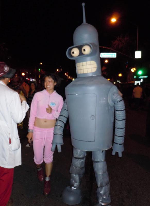 West Hollywood Halloween Bender Futurama