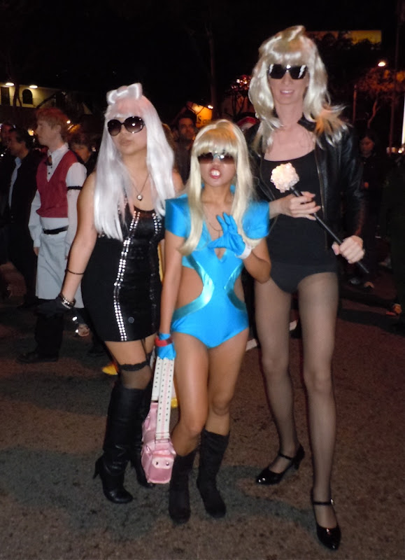 Lady Gagas West Hollywood Halloween Carnaval 2010