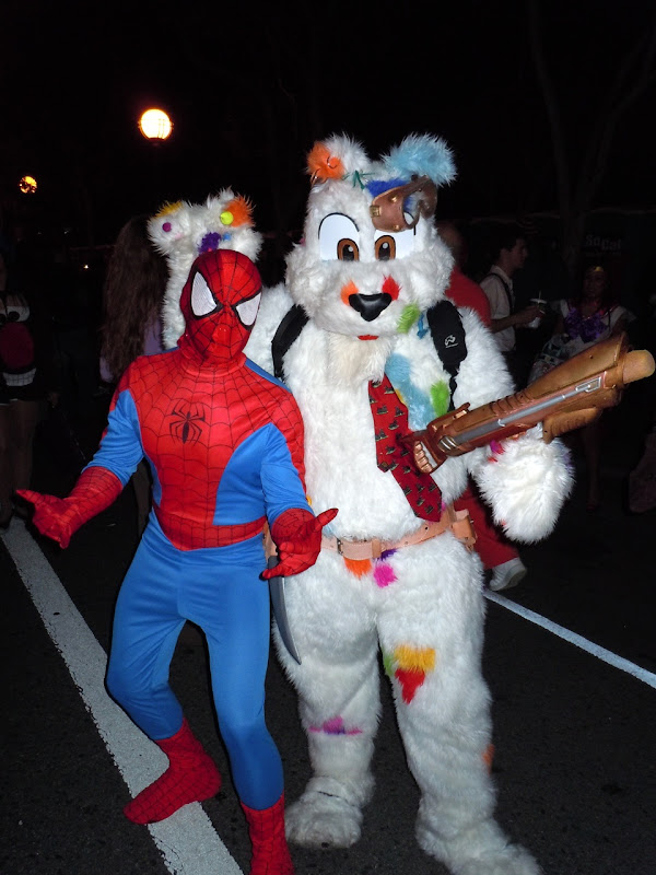 West Hollywood Halloween Carnaval costumes 2010