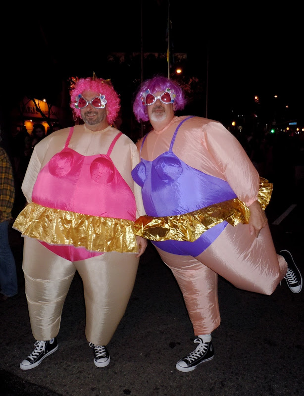 Fat Ballerinas West Hollywood Halloween Carnaval 2010