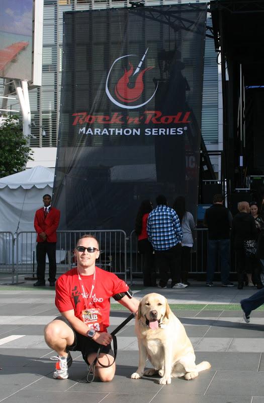 After Rock n Roll LA Half Marathon 2010