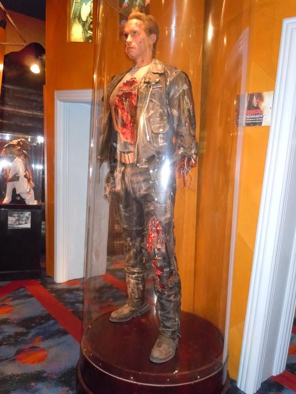 Terminator 2 Arnold Schwarzenegger cyborg display